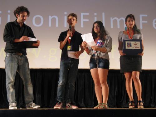 Gff2012 Consegna premio CGS Bottega Digitale