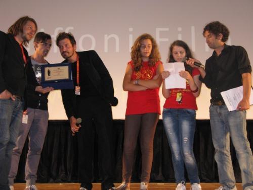 Gff2012 Consegna premio Percorsi Creativi