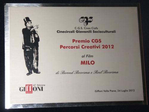Gff2012 Premio Percorsi Creativi
