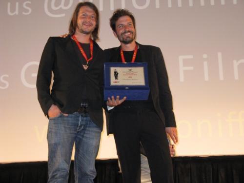 Gff2012 fratelli Boorsma con il premio
