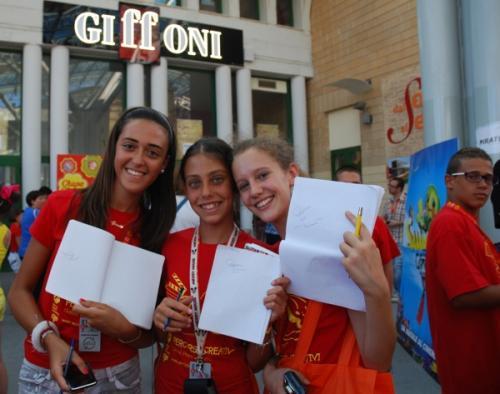 gff2012 caccia di autografi