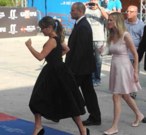 Gff14 Arriva Lea Michele (Glee)