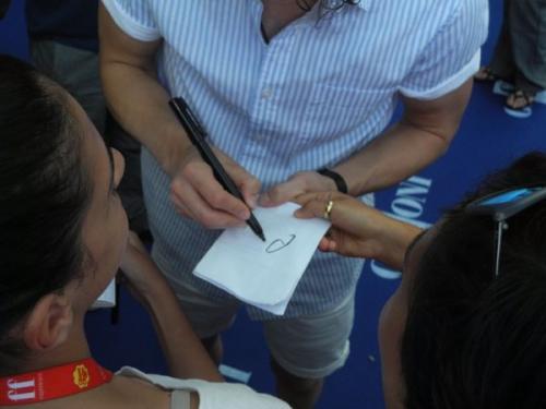 GFF15 AutografoDarrenCrissGLEE