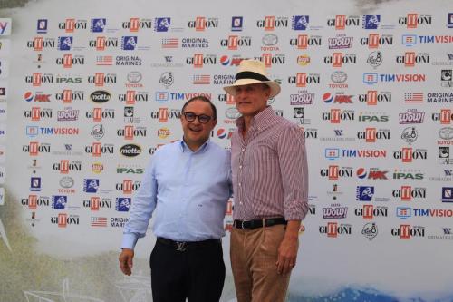 Woody Harrelson accolto al festival