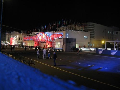v12 Mostra by night