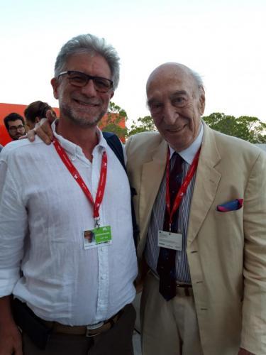 Foto con Giuliano Montaldo