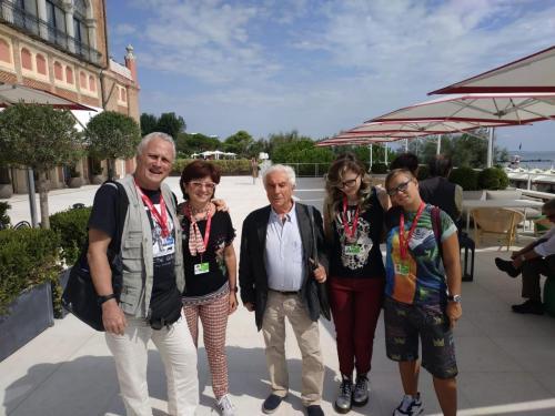 Con Italo Moscati