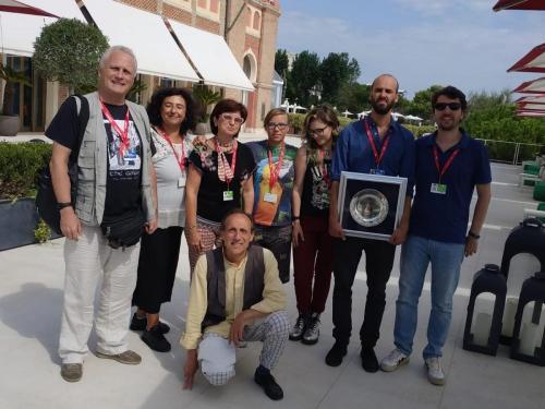 Premiazione con Carlo Sironi