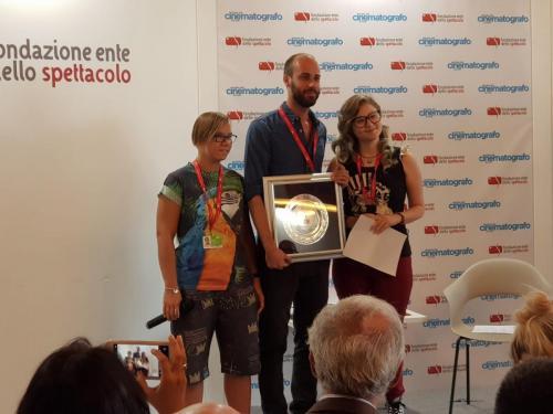 """Premio """"Lanterna Magica"""" al film SOLE di Carlo Sironi (Orizzonti)"""