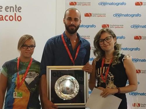 """Consegna del Premio """"Lanterna Magica 2019"""" a Carlo Sironi"""